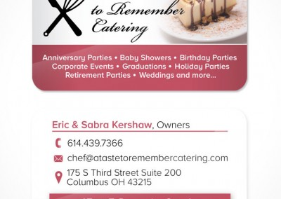 A Taste To Remember Catering
