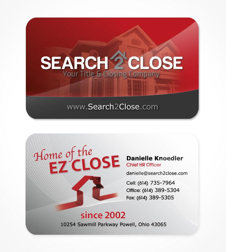 Business card design in transit studios search2close colourmoves