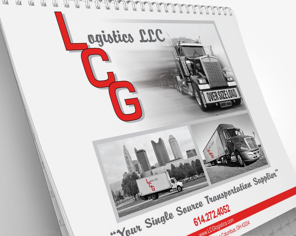 Logistics Calendar Design : Lcg logistics calendar in transit studios