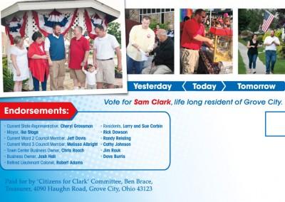 Campaign Postcard - Back