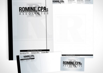 Romine CPA's Stationary