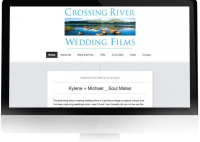 Crossing River Wedding Films