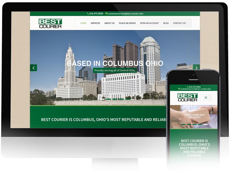 Web Design Best Courier In Transit Studios