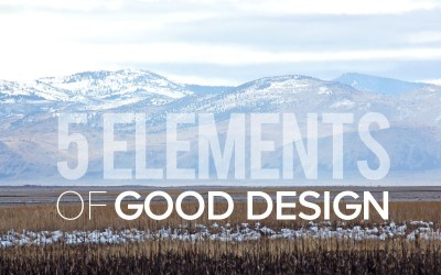 5 Elements of Good Design