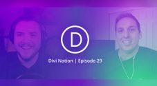 Josh featured on the Elegant Themes Divi Nation Podcast